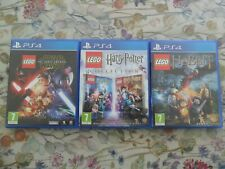 LEGO Harry Potter Collection Star Wars Force Awakens Hobbit (PlayStation 4,2014)