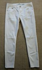 Almost Famous~Jr/Miss 11~Denim Jeans White Stretchy Skinny