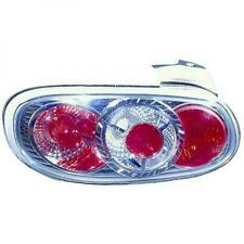 Back Rear Tail Lights Pair Set Clear Chrome For Mazda MX 5 98-05