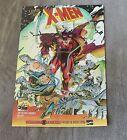 X-Men Mutant Genesis 1991 JIM LEE JOHN BYRNE Claremont Williams PROMO Poster VF
