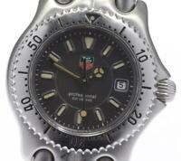TAG HEUER S/el WG1313-2 Date gray Dial Quartz Ladies Watch_595637