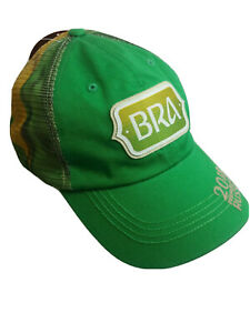 Top of the World Brazil Hat Soccer National Team Green Soccer  World Cup  Mesh