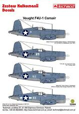 Techmod Decals 1/32 VOUGHT F4U-1 BIRDCAGE CORSAIR Fighter