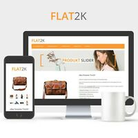 FLAT2K Template 2019 RESPONSIVE Auktionsvorlage Ebayvorlage Vorlage Design HTML
