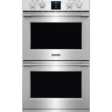 """Frigidaire Stainless Steel Pro 30"""" Double Wall Oven Convection FPET3077RF"""