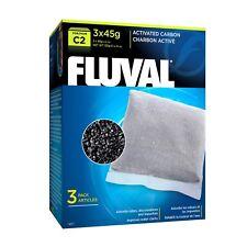 Repuesto almohadillas de medios de carbono Poliéster Fluval para Filtro Interno U3 bajo el agua
