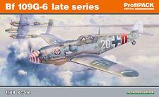 MESSERSCHMITT Bf-109G-6 (Late Series)  EDUARD PROFIPACK 1/48 PLASTIC KIT