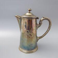Christofle France Kaffeekanne Kakaokanne versilbert   (D)