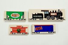 The Cat's Meow Village Pieces Lot of 4 Hershey, Pa Chocolate Town Usa Train