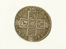 1711 Anne Shilling English Queen Silver Coin KEY DATE for issue  #D38