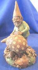 """""""Piggy Bank"""" by Artist Tom Clark Gnome Figurine"""