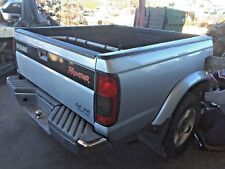 00 2000 Nissan Frontier SE 4x2 Crew Cab Pickup Short Bed w Extender & Bed Liner