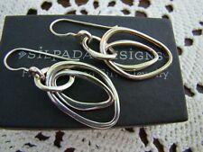 Intertwined Earrings W1487 Silpada Sterling Silver