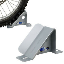 RB Components Aluminum Motorcycle or ATV Wheel Chock For Garage or Trailer 2314