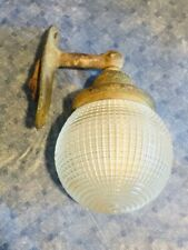 Antique Nautical Wall Sconce Holophane Boat Ship Light Chris Craft Industrial