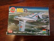 Airfix 1/72 scale Mig 15 Kit