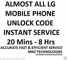 LG UNLOCK CODE L5 L3 L9 L4 P870 2X NEXUS 4 E430 P920 E455 P769 L7 L3 OPTIMUS G