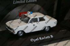 Schuco Opel Kadett Polizei 02943 in 1:43 scale