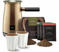 HOTEL CHOCOLAT HC01 Velvetiser Hot Chocolate Machine Copper - Currys