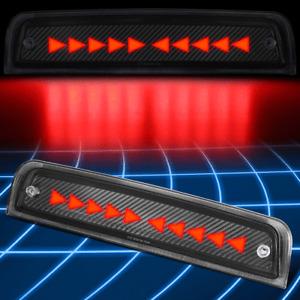 For 09-18 Ram 1500-5500 Carbon Fiber Sequential Triangle LED 3rd Brake Light