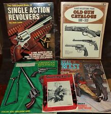 5 Book Lot of Shooting Related Books/Manuals/Magazines