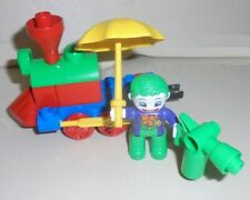 DUPLO ,.... JOKER or CLOWN with Circus Train Wheels