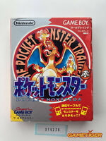 POCKET MONSTER Red Pokemon Nintendo Gameboy JAPAN Ref:315226