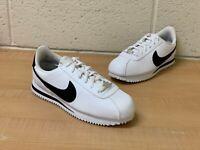 Nike Cortez Basic SL White/Black (GS)  (904764 102) (Size 5.5Y)