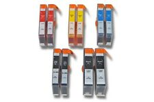10x CARTUCHO TINTA negro y color para HP 364 XL Officejet 6500 all-in one