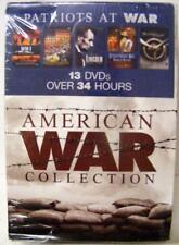 PATRIOTS AT WAR 13 DVD SET THE AMERICAN WAR COLLECTION LINCOLN NEW SEALED
