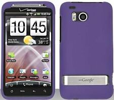 Hard Rubberized Case for HTC Thunderbolt - Purple