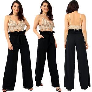 Womens Tassel Sequin Bralet Top Ladies Cami Straps Party Fashion Bralet New