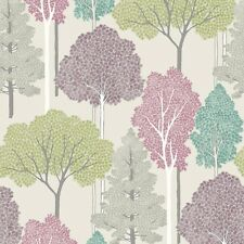 ELLWOOD SPARKLE GLITTER TREES FORREST LEAF QUALITY ARTHOUSE WALLPAPER 670000