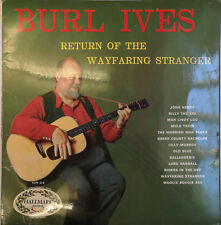 "Burl Ives ‎– The Return Of The Wayfaring Stranger (HM 514) 12"" Vinyl LP Hallmark"