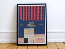 Mon Oncle, Jacques Tati, movie poster, Monsieur Hulot, french film, cinema