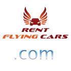 RentFlyingCars.com - premium domain name, logo included - No reserve!