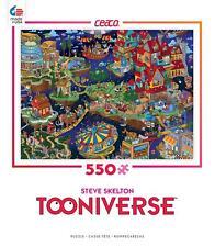 CEACO TOONIVERSE PUZZLE WHEN SIXES WERE NINES STEVE SKELTON 550 PCS #2357-19