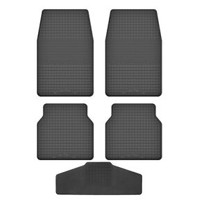 Fußmatten für VW Golf 1 1974 - 1983 Gummi Gummimatten