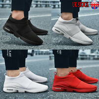 UK Mens Teens Pumps Mesh Trainers Sneakers Breathable Shoes Fashion Sizes 6-11