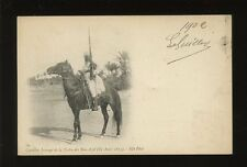 North Africa ethnic Cavalier Insurge de la Tribu des Bou-Azid u/b PPC 1902