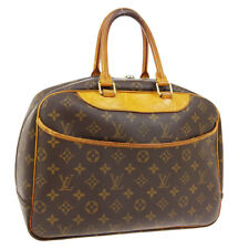 LOUIS VUITTON DEAUVILLE BUSINESS HAND BAG PURSE MONOGRAM VINTAGE M47270 A49044