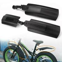 Bicycle Bike Front Rear Mudguard Cycling Bike For Fat Tire Fender Z4T9