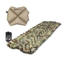 Klymit Insulated Static V Sleeping Travel Pad Mat Desert Camo w/ Pillow X Recon