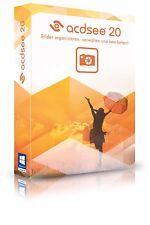 ACDSee 20  acdsee Version deutsch CD/DVD Fotomanager EAN 4025461004622