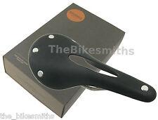 Brooks Cambium C15 Carved Saddle Black Cotton & Rubber Seat Touring Road Bike
