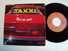"TAXXI Not me girl / Stranger 7"" 45T 1981 French press FANTASY 17075 thunderbird"