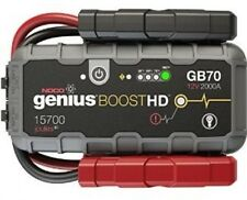NOCO Boost GB70 HD - 12V 2000 UltraSafe Lithium Jump Starter Pack w/USB Charger