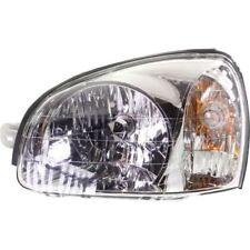 For Santa Fe 03-06, Driver Side Headlight, Clear Lens