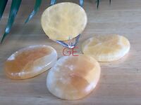 """1 lb Light Green Calcite Mineral Chunks1-1.5/"""" PiecesVienna Imports"""
