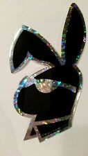 PLAYBOY STYLE--BUNNY HEAD--NEW--Prismatic Vending Machine Stickers(#5N)